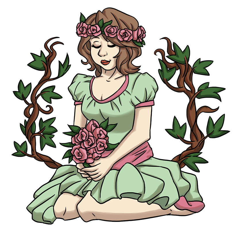 Beatrice the gentle master. Clipart grass poison