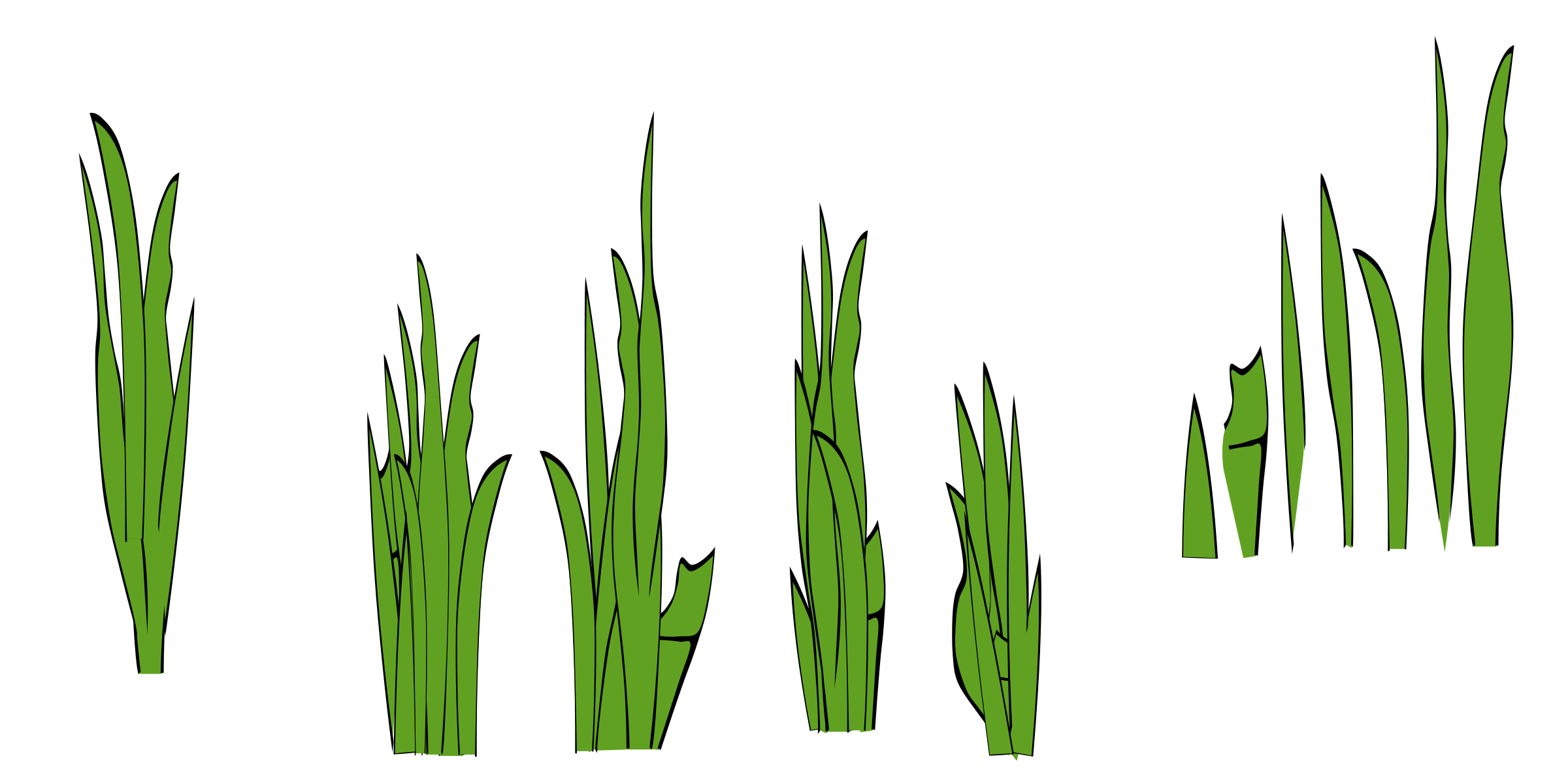 Clipart mountain grass. Green border panda free
