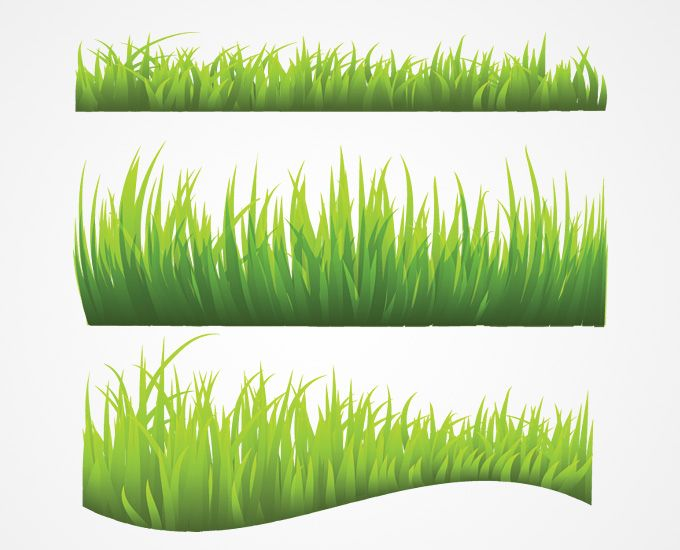 Vector free archive fabrics. Clipart grass printable
