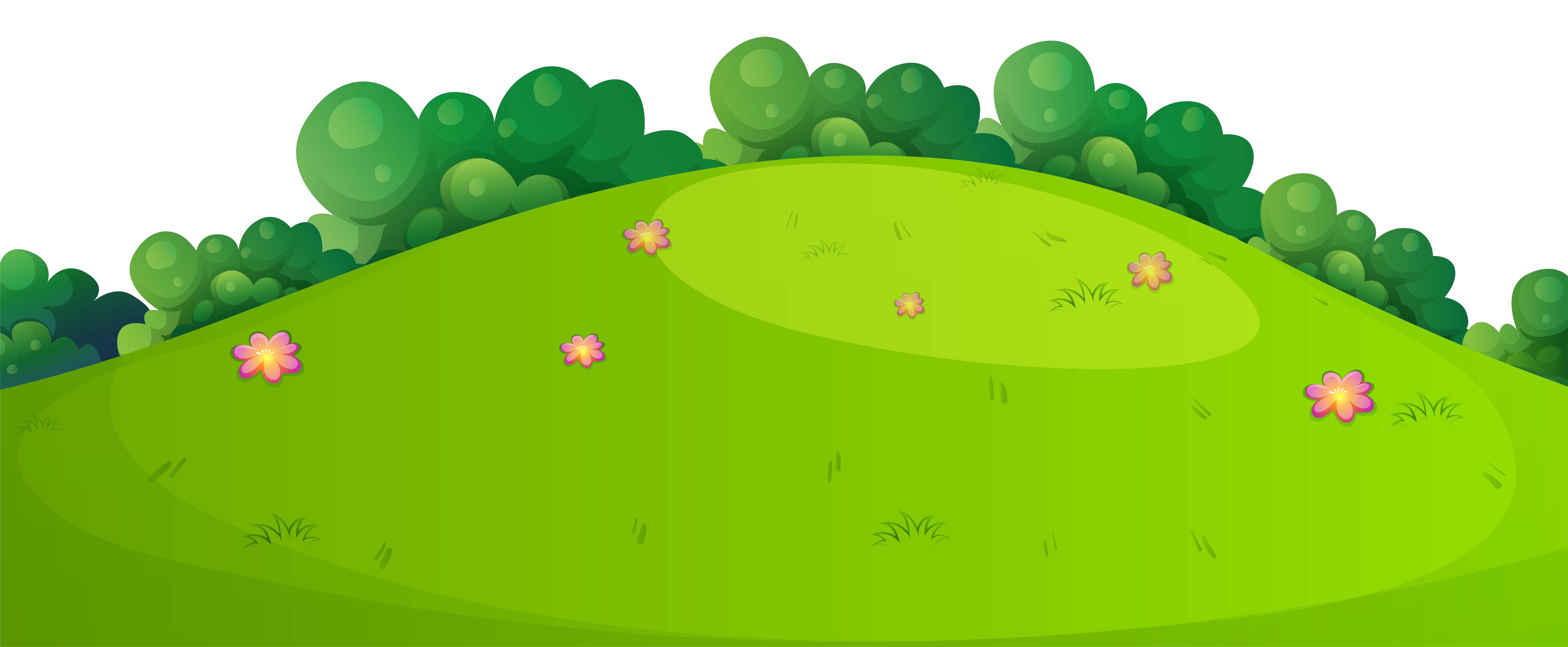 Clipart rock ground. Meadow grass png clip