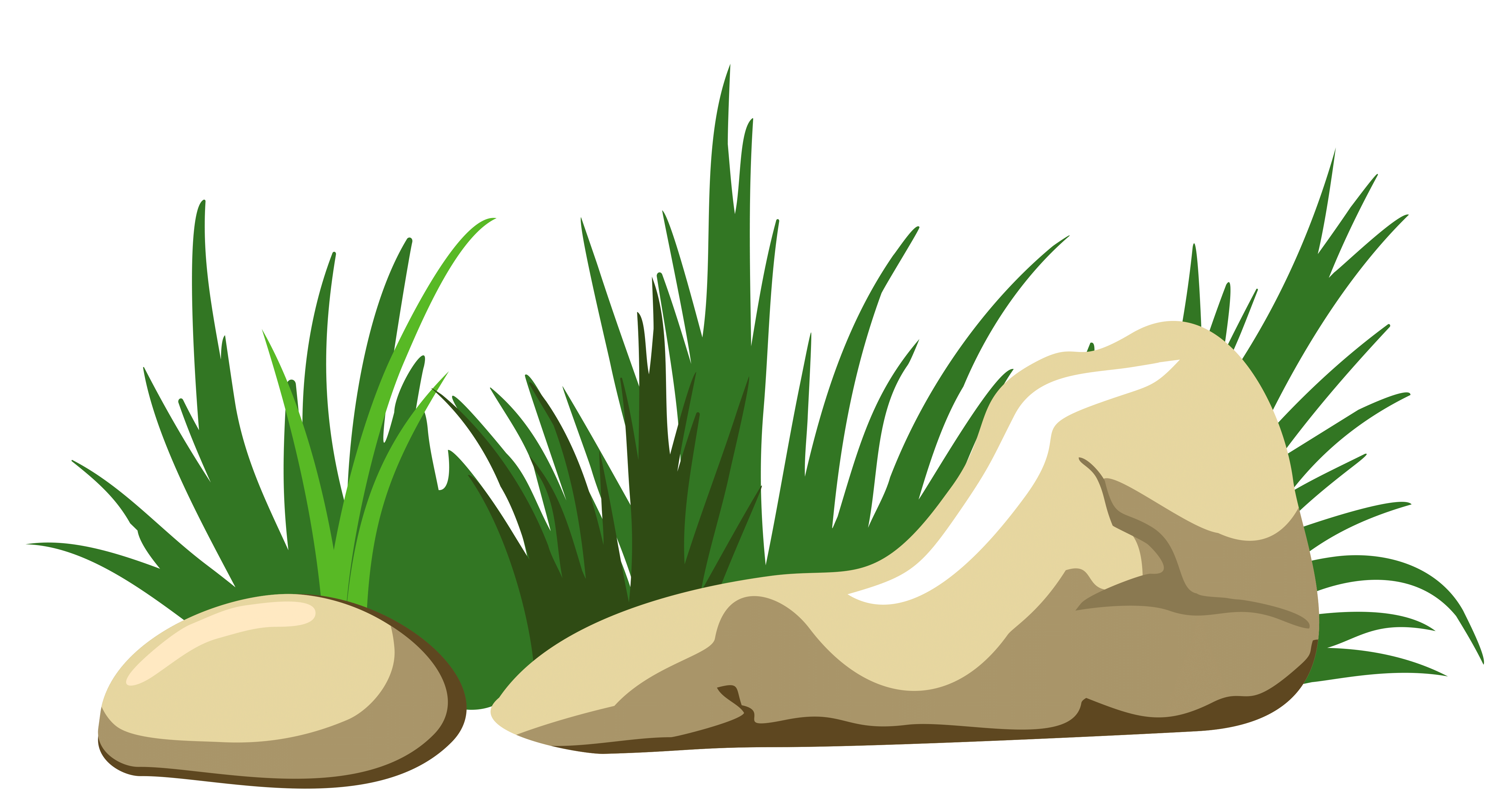 Clipart grass rock.  collection of stone