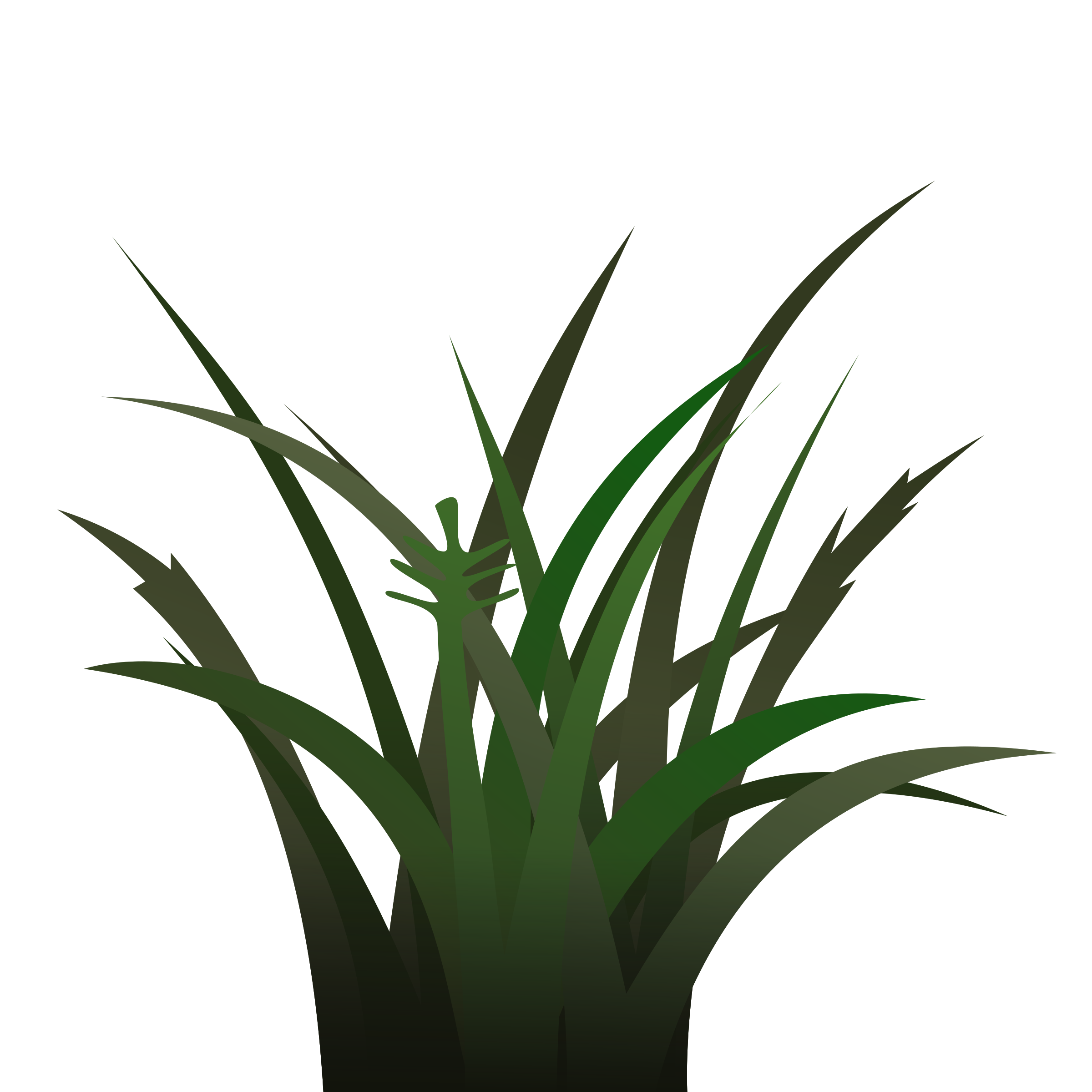 Darker shaded big image. Grass clipart shadow