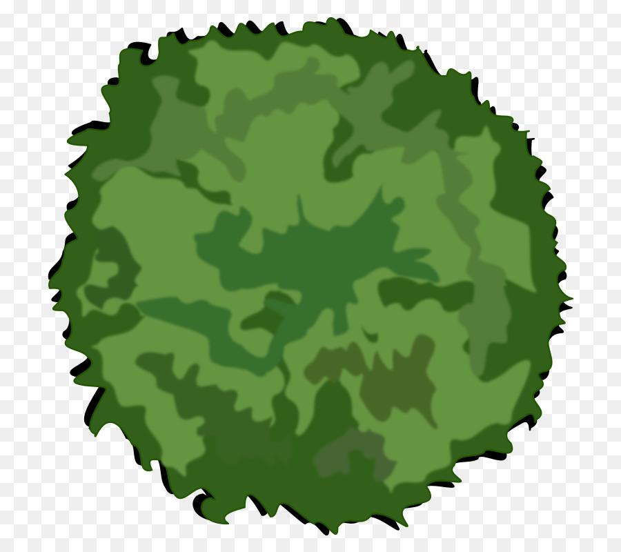 Green background tree leaf. Grass clipart shrub