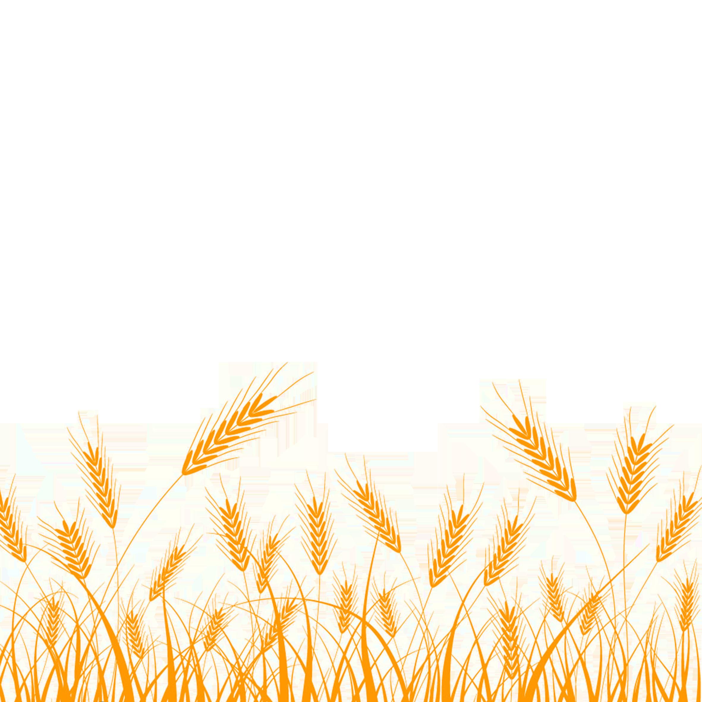 Wheat clipart grain bag. Silhouette clip art rice
