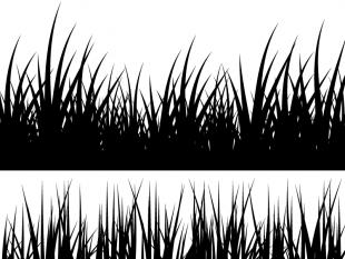 Clipart grass silhouette. Free cliparts download clip