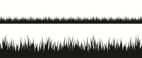 Clipart grass silhouette. Free vector art downloads