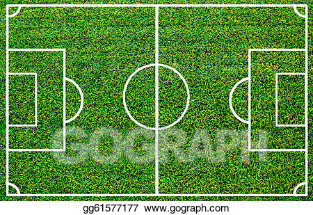 Clipart grass soccer. Stock illustrations field with