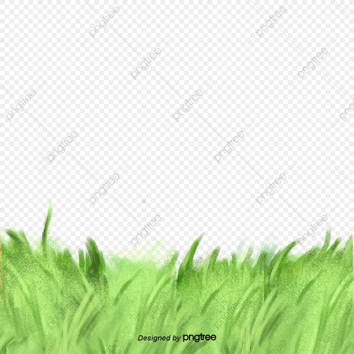 Green cluster element png. Clipart grass summer