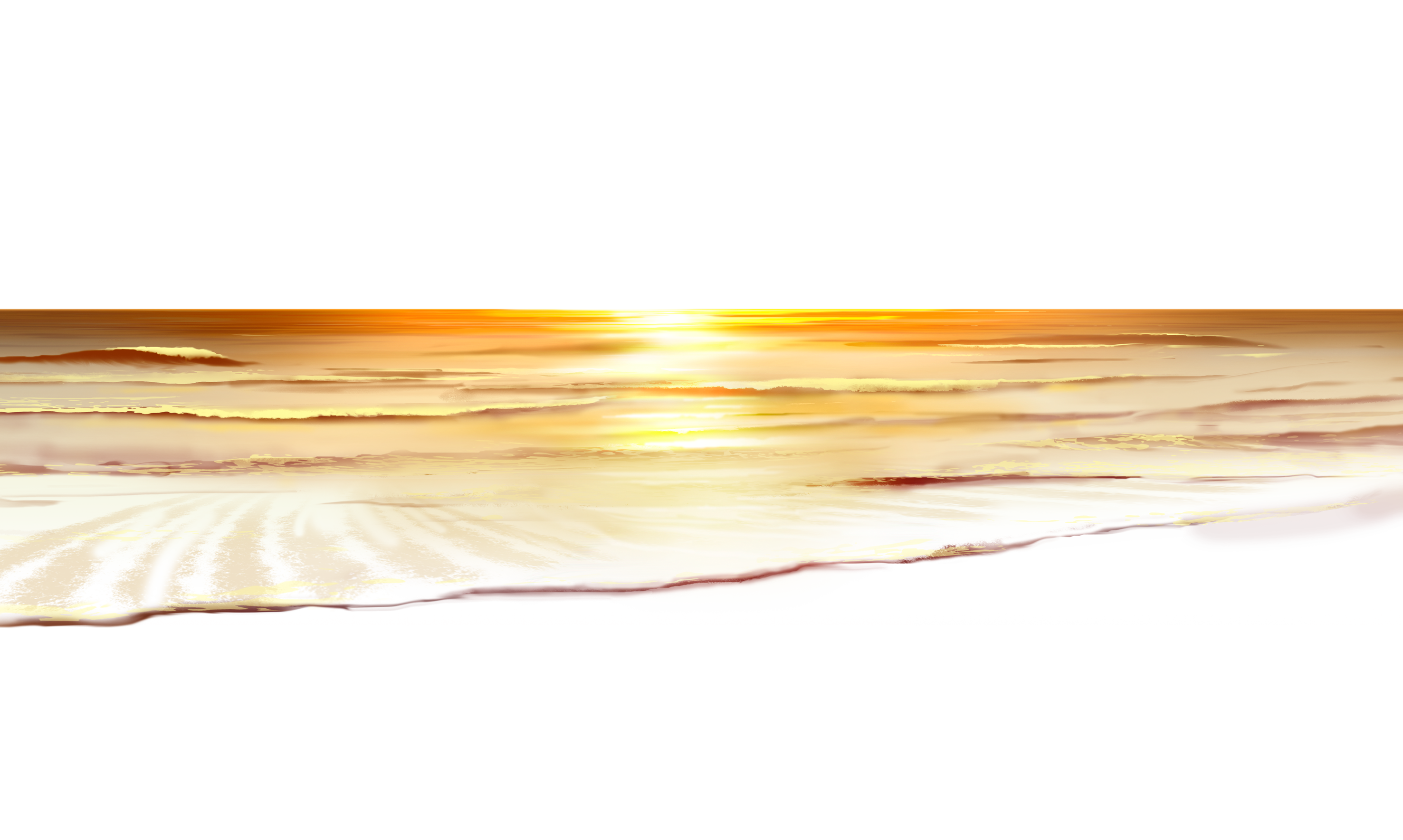 Clipart grass sun. Sea sunset ground png