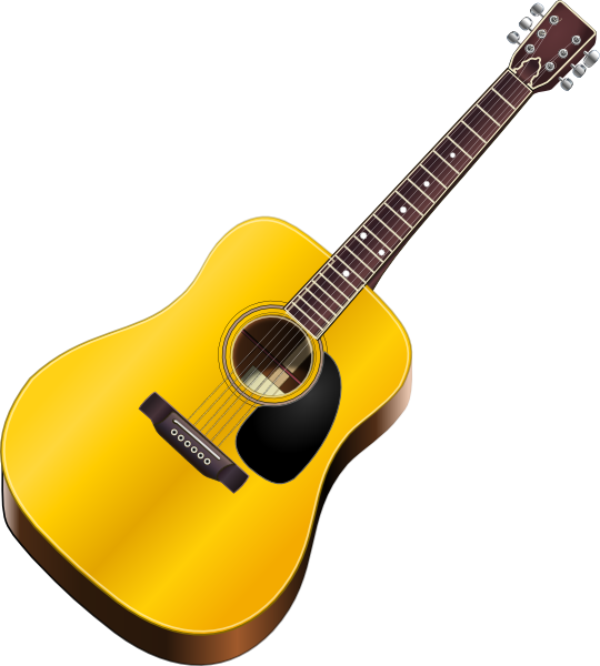 Clip art at clker. Clipart guitar