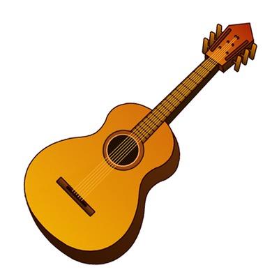 Clip art royalty free. Clipart guitar