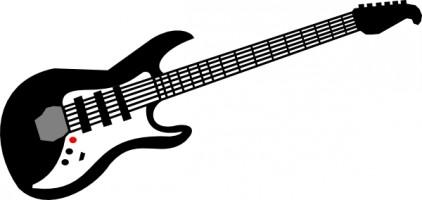 Clipart guitar. Clip art royalty free