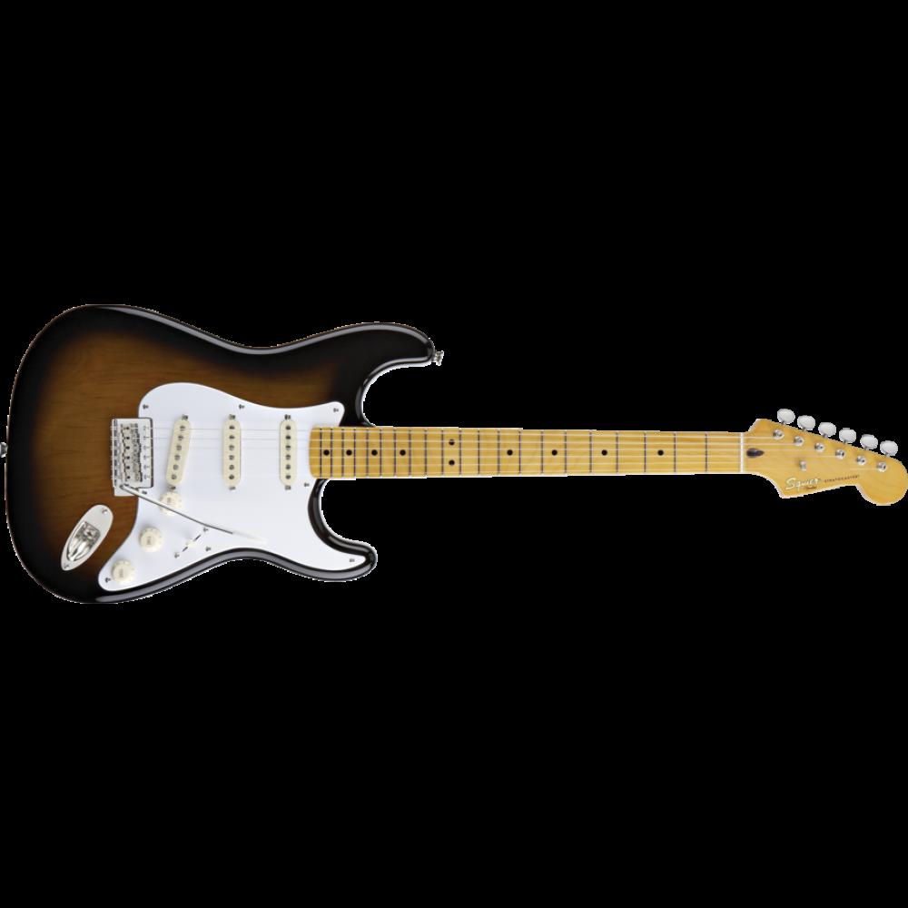 Fender squier classic vibe. Clipart guitar 50's
