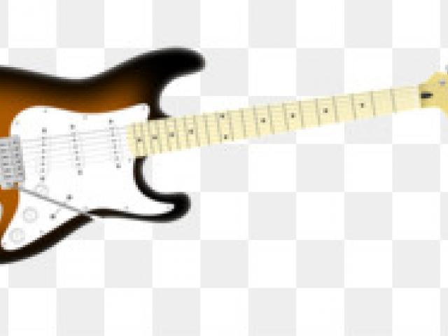 S x free clip. Clipart guitar 50's