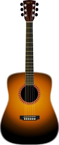 Clipart guitar accoustic guitar. Acoustic clip art free