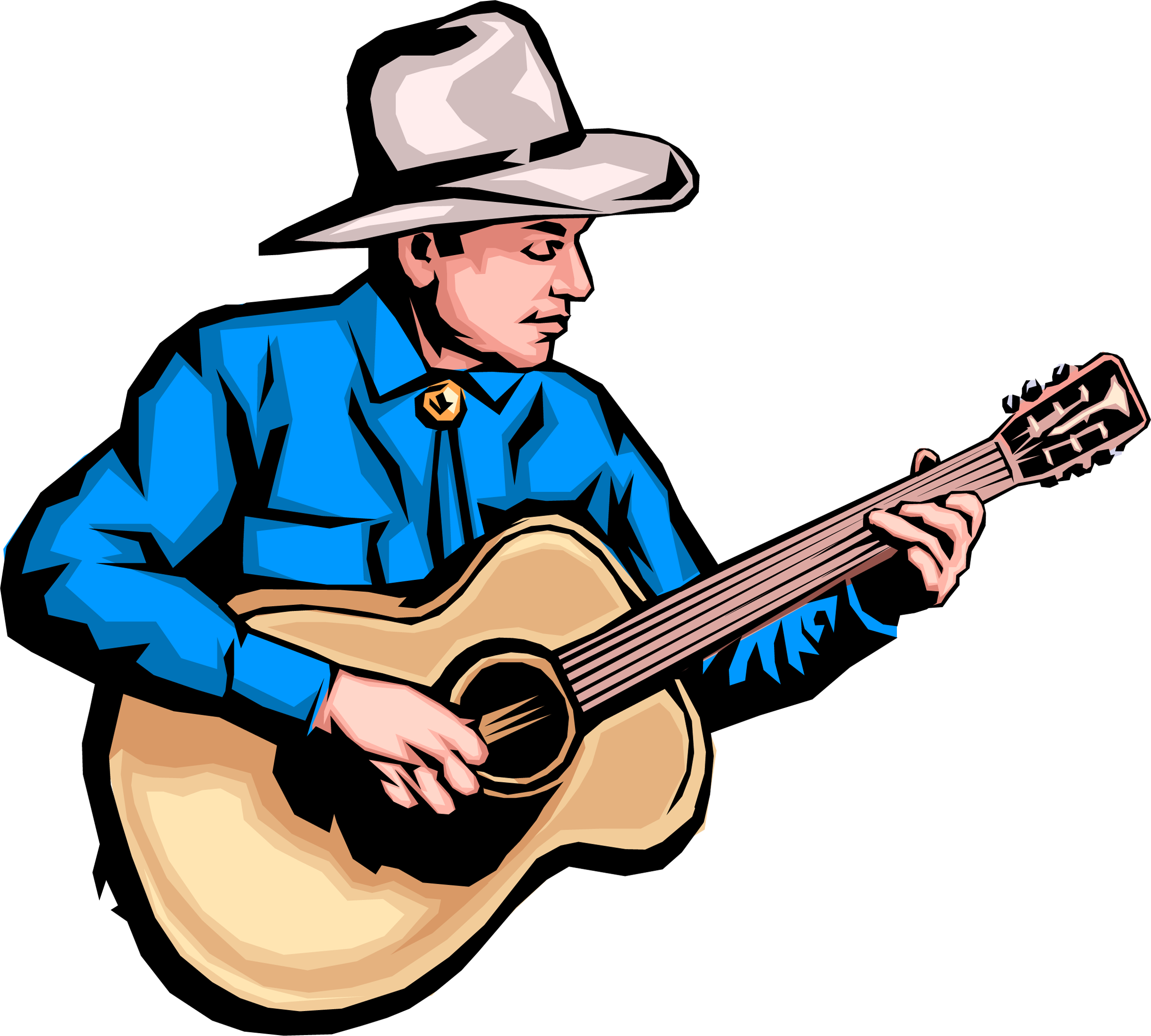 Noodlepalooza spill the beans. Musician clipart solo