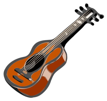 Free download clip art. Clipart guitar animated