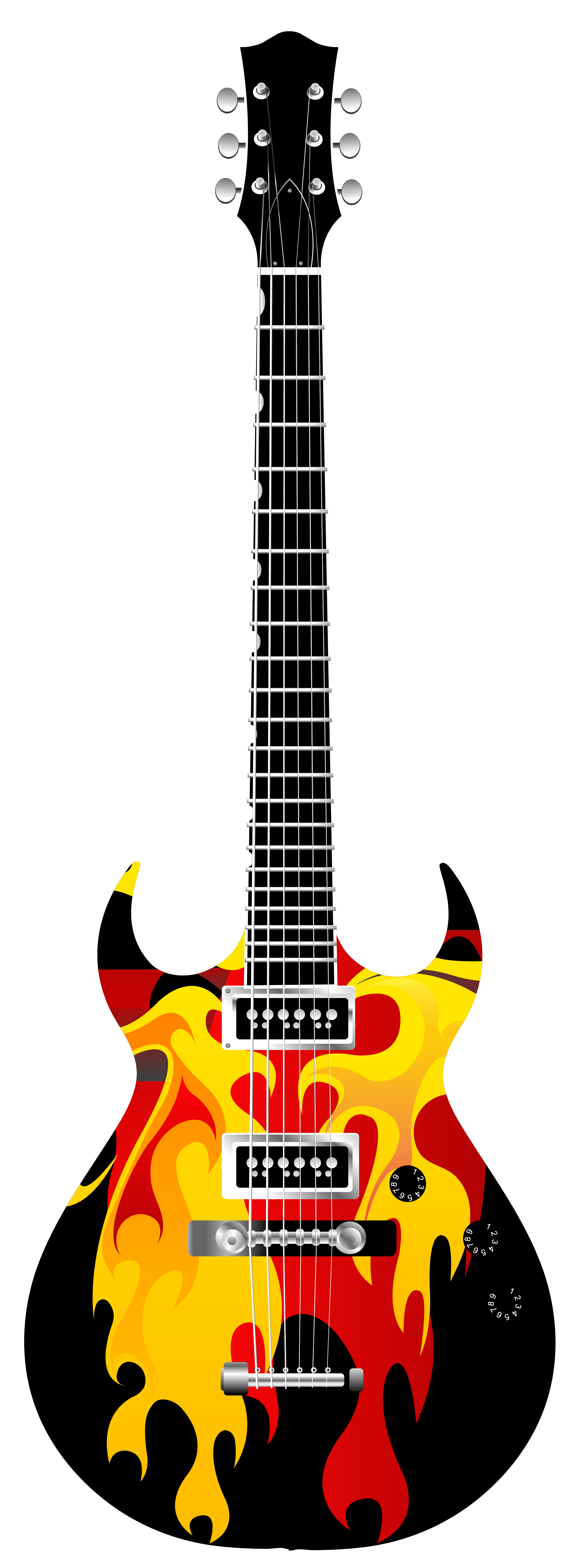 Bass guitar majestic looking. Electric clipart fixed expense