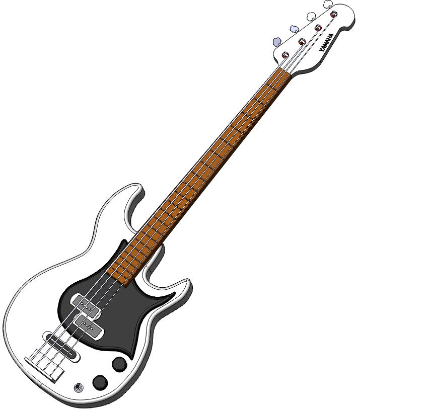 Bass png transparent images. Clipart guitar artistic