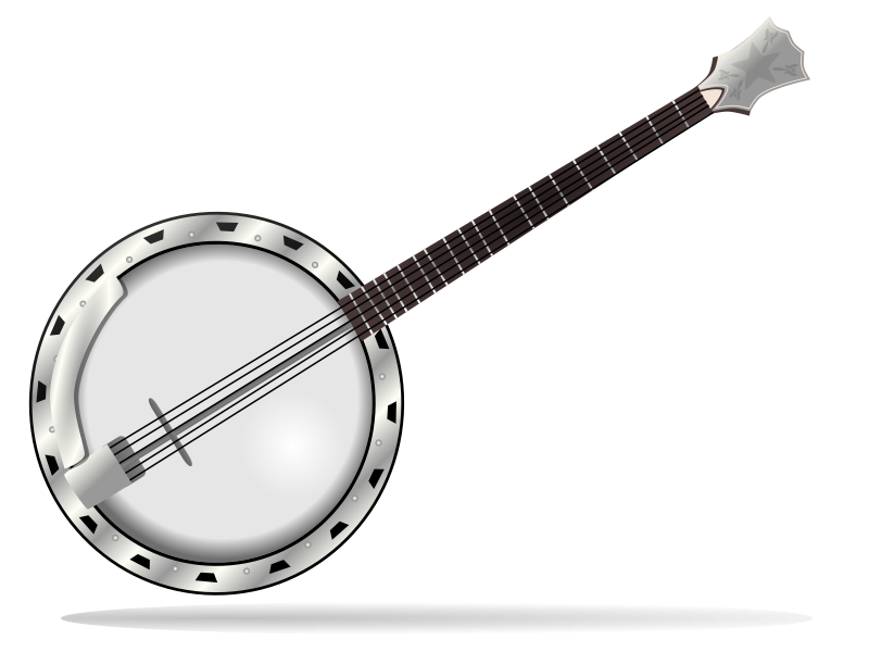 Hillbilly clipart banjo. Files