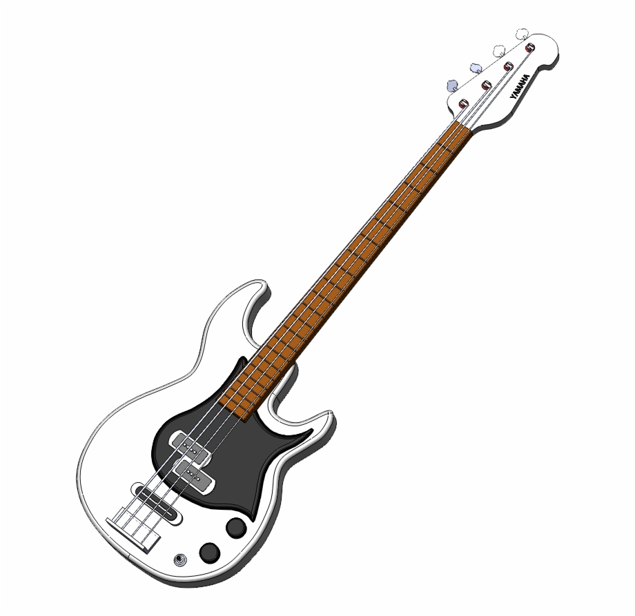 Clipart guitar bass guitar. Png free images
