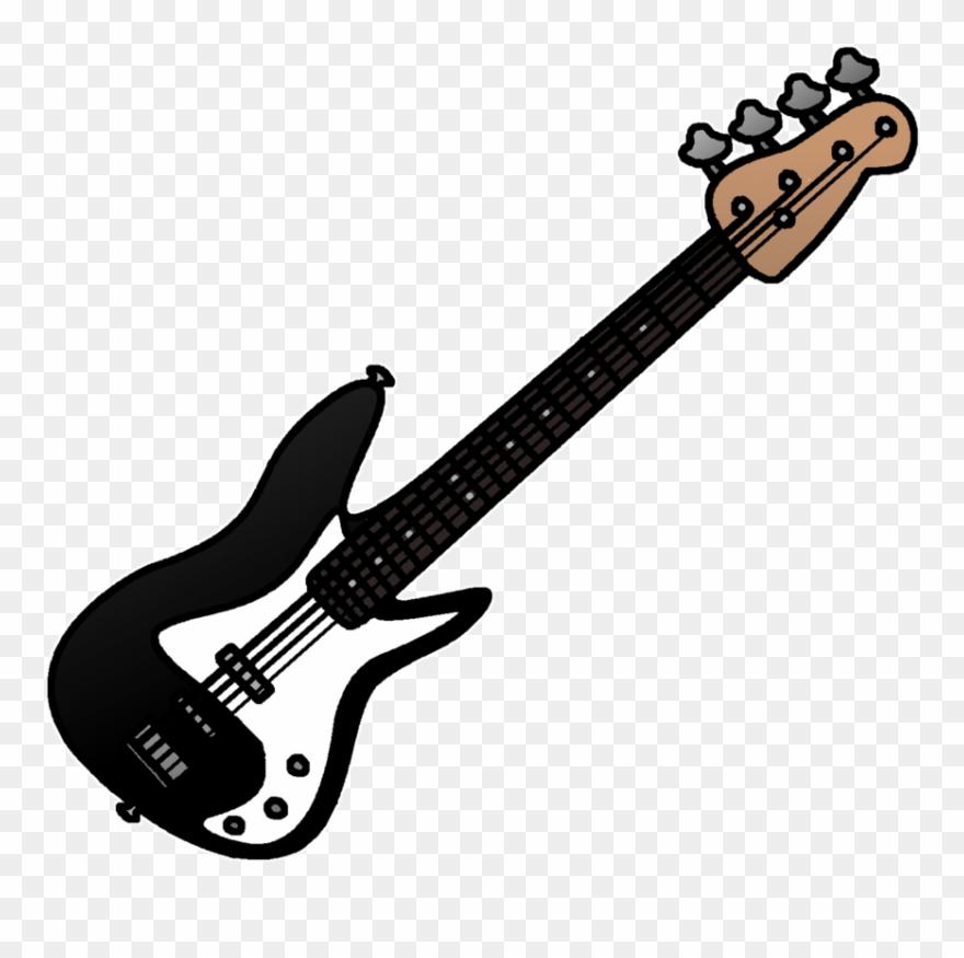 Clipart guitar bass guitar. Jumping clip art png