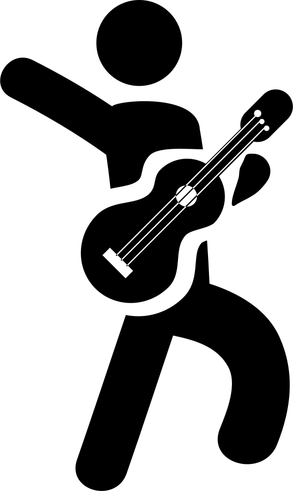 Player svg png icon. Clipart guitar bitmap