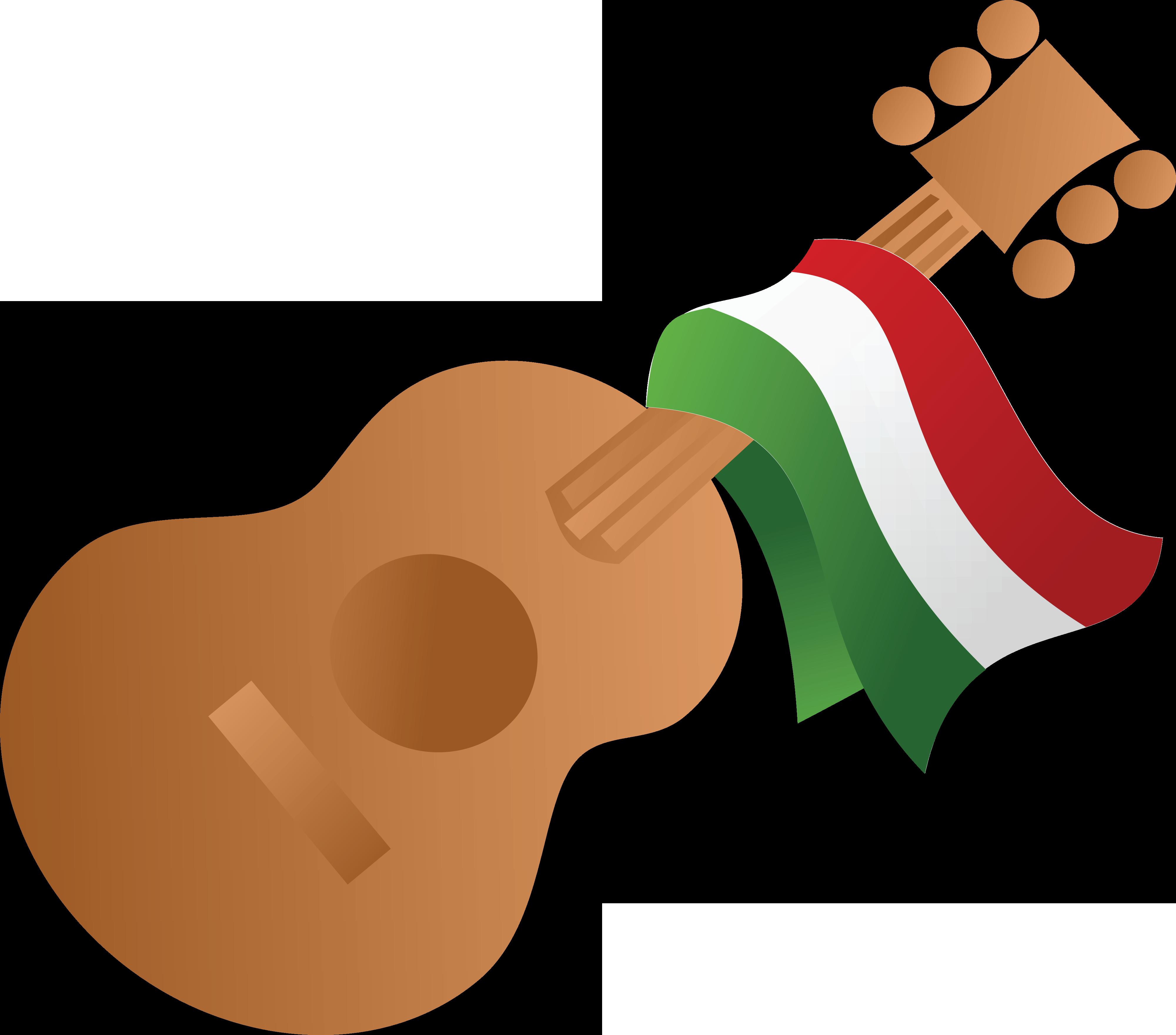 Free guitar clip art. Vegetables clipart mexican