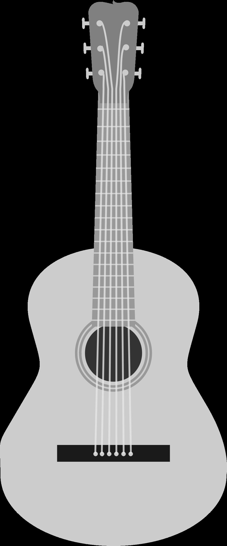 Guitar clipart guitar design. Acoustic png black and