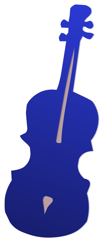 Guitar blue object