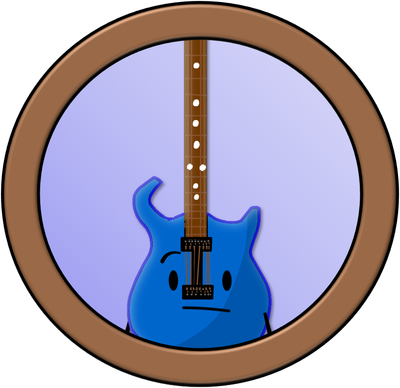 Inanimations by planetbucket on. Guitar clipart blue object