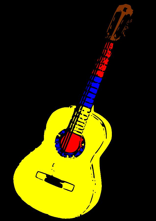 Cliparthut free gibson . Clipart guitar border