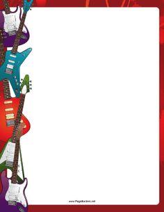 Free cliparts download clip. Clipart guitar border