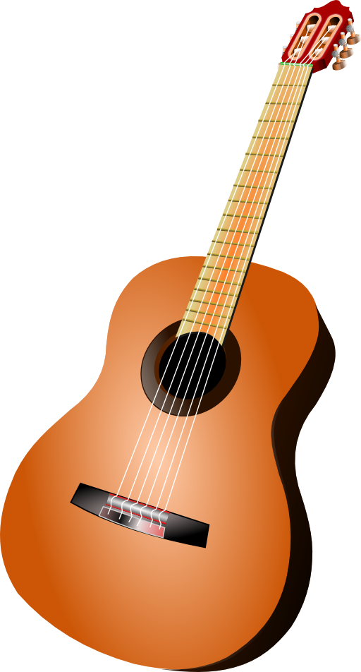 Clipart guitar box. Classic i royalty free