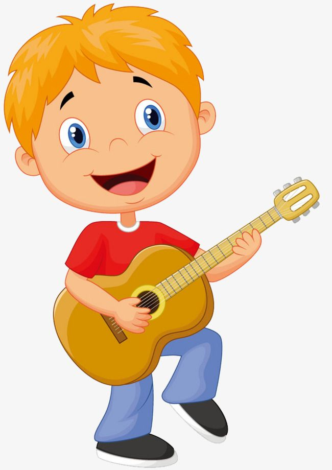 Free pull pattern . Clipart guitar boy