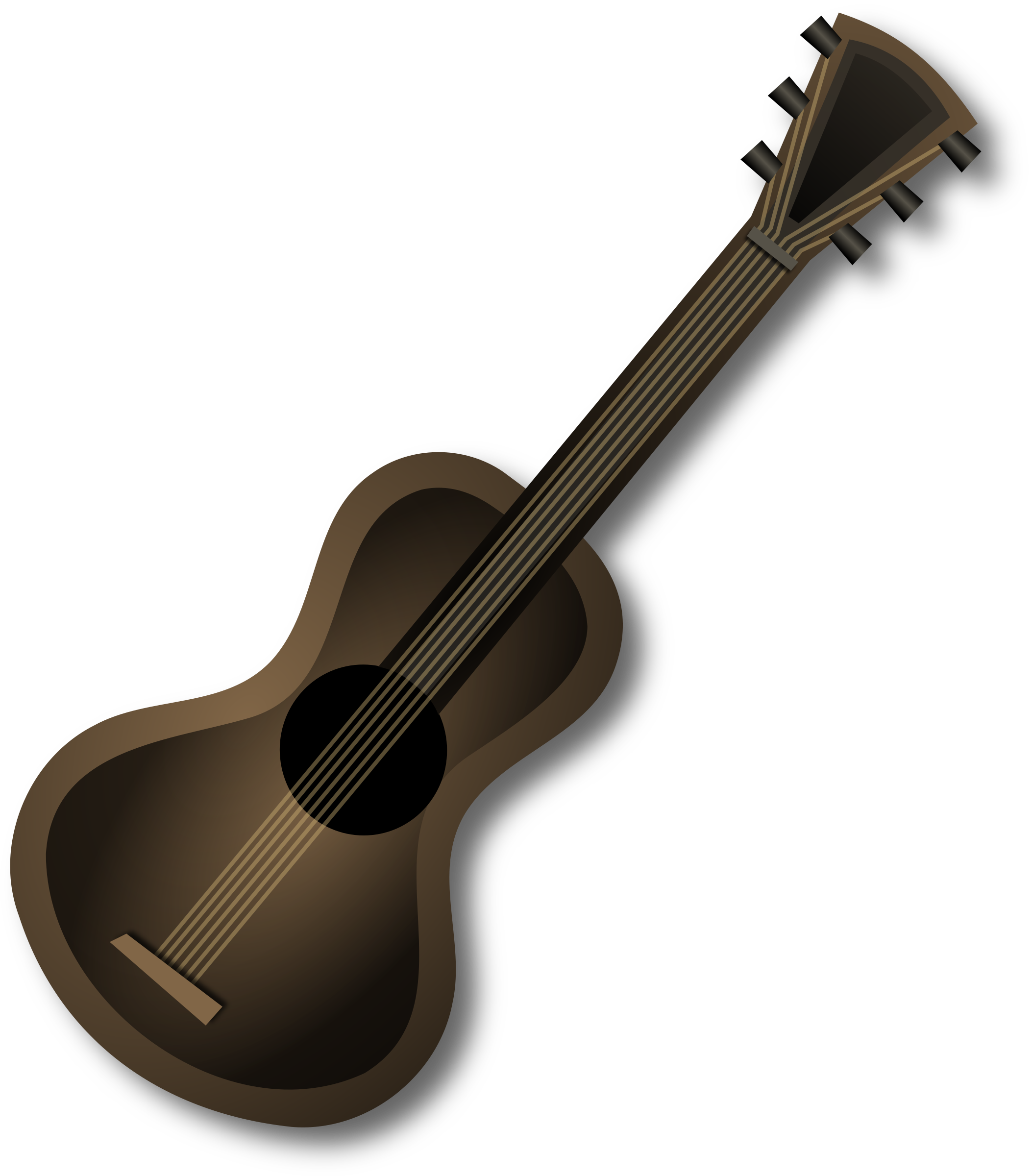 Clipart guitar brown guitar. Icons png free and