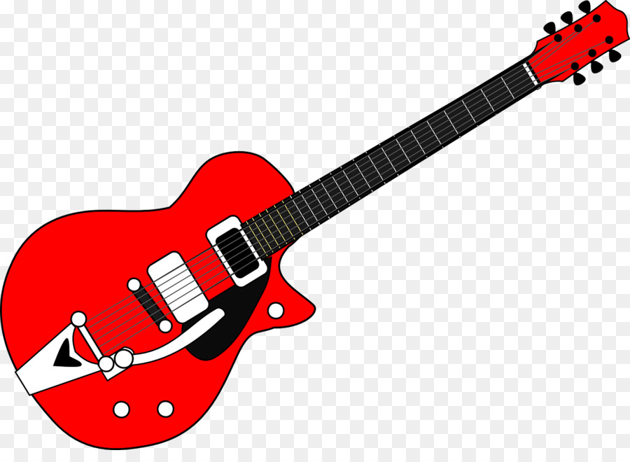 Clipart guitar cartoon. Illustration graphics