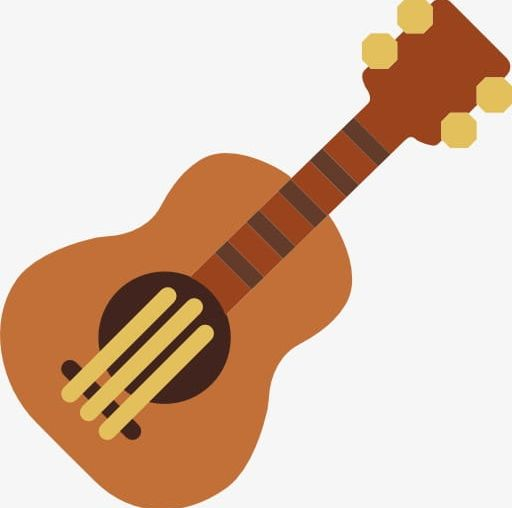 Clipart guitar cartoon. A png
