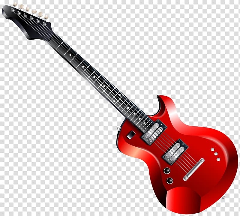 Clipart guitar clear background. Electric transparent png