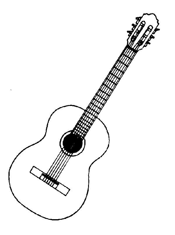 pictures clipartlook. Clipart guitar clip art black
