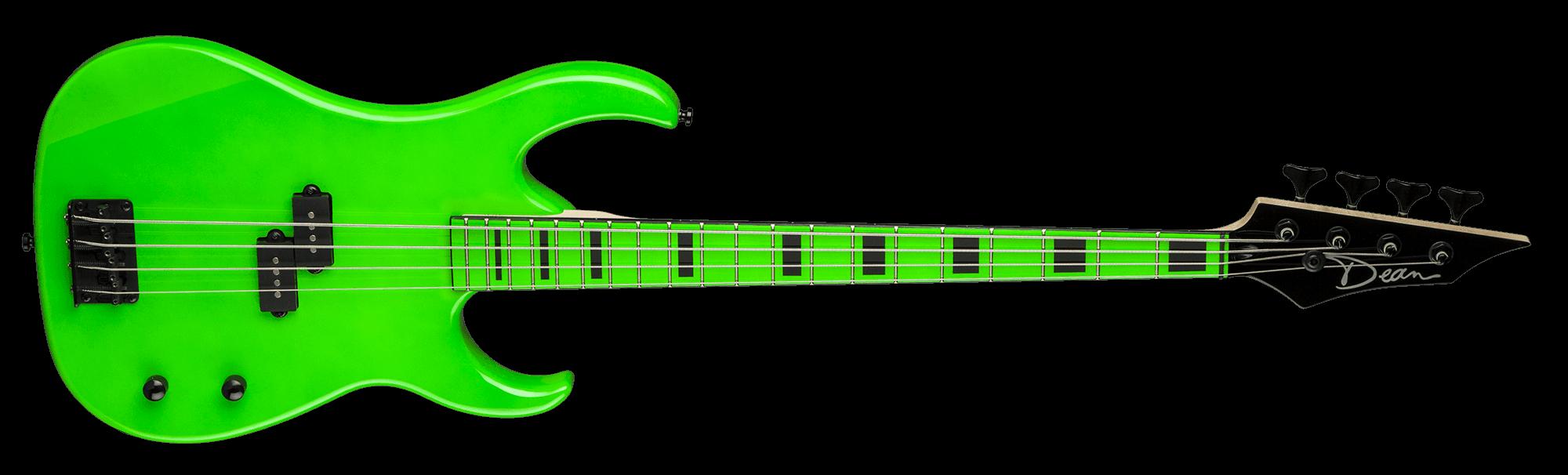 Clipart guitar colorful guitar. Custom zone nuclear green