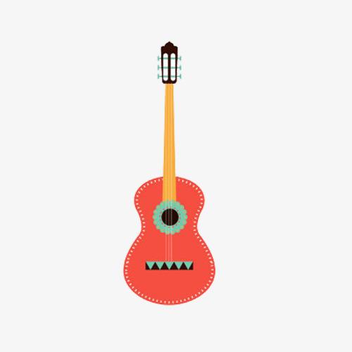 Clipart guitar colorful guitar. Color clip png images