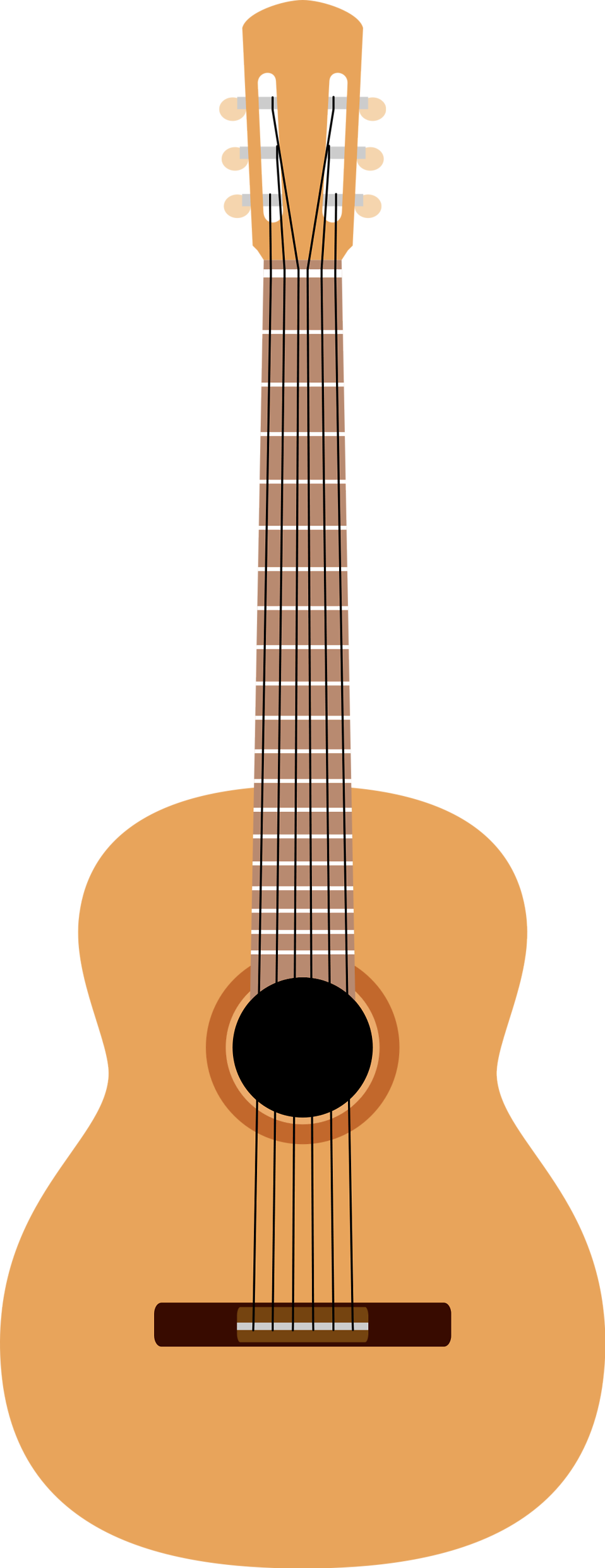 Clipart guitar concert. Illustrations free stock photo