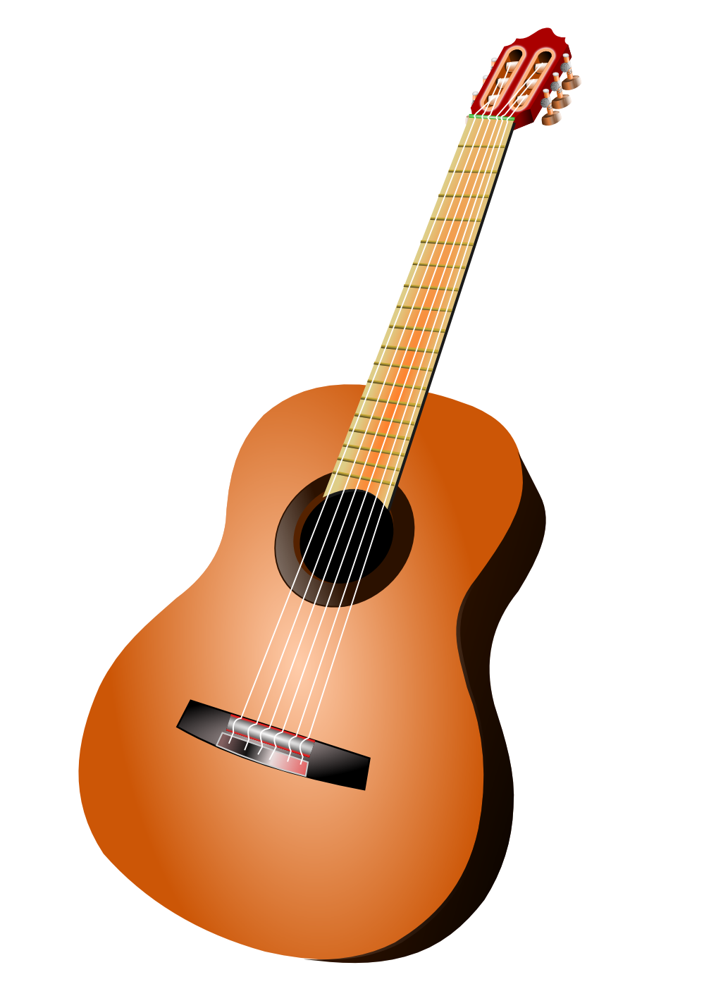 Clipart guitar concert. Fifteen isolated stock photo