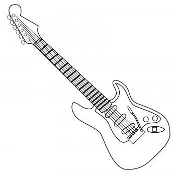 Clipart guitar cool guitar. Free clip art lovetoknow