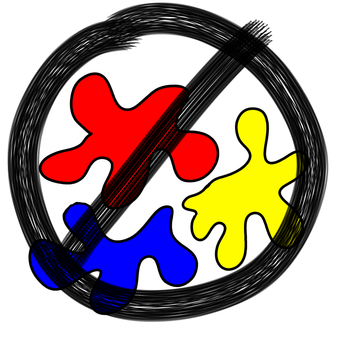 Primary colors the real. Clipart guitar crossed