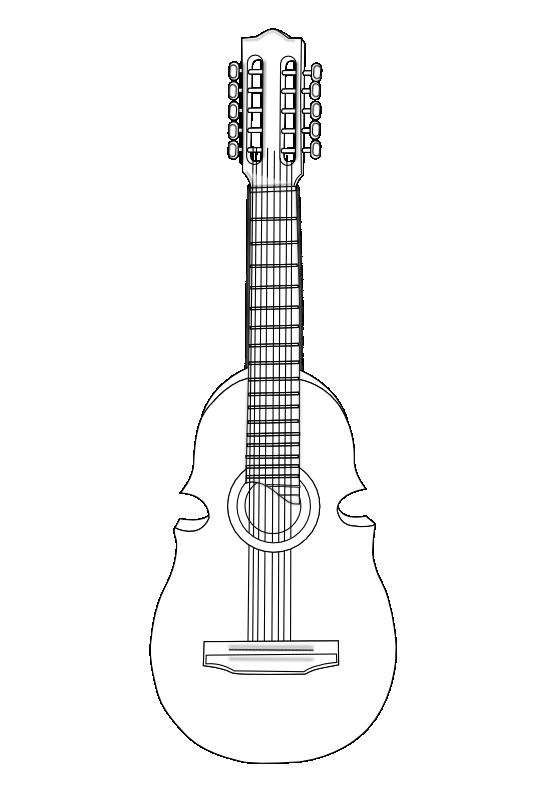 Clipartist net clip art. Clipart guitar cuatro