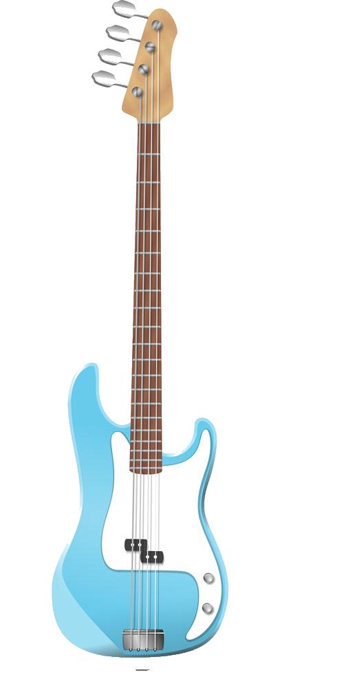 Clipart guitar cuatro. Bass clip art cartoon