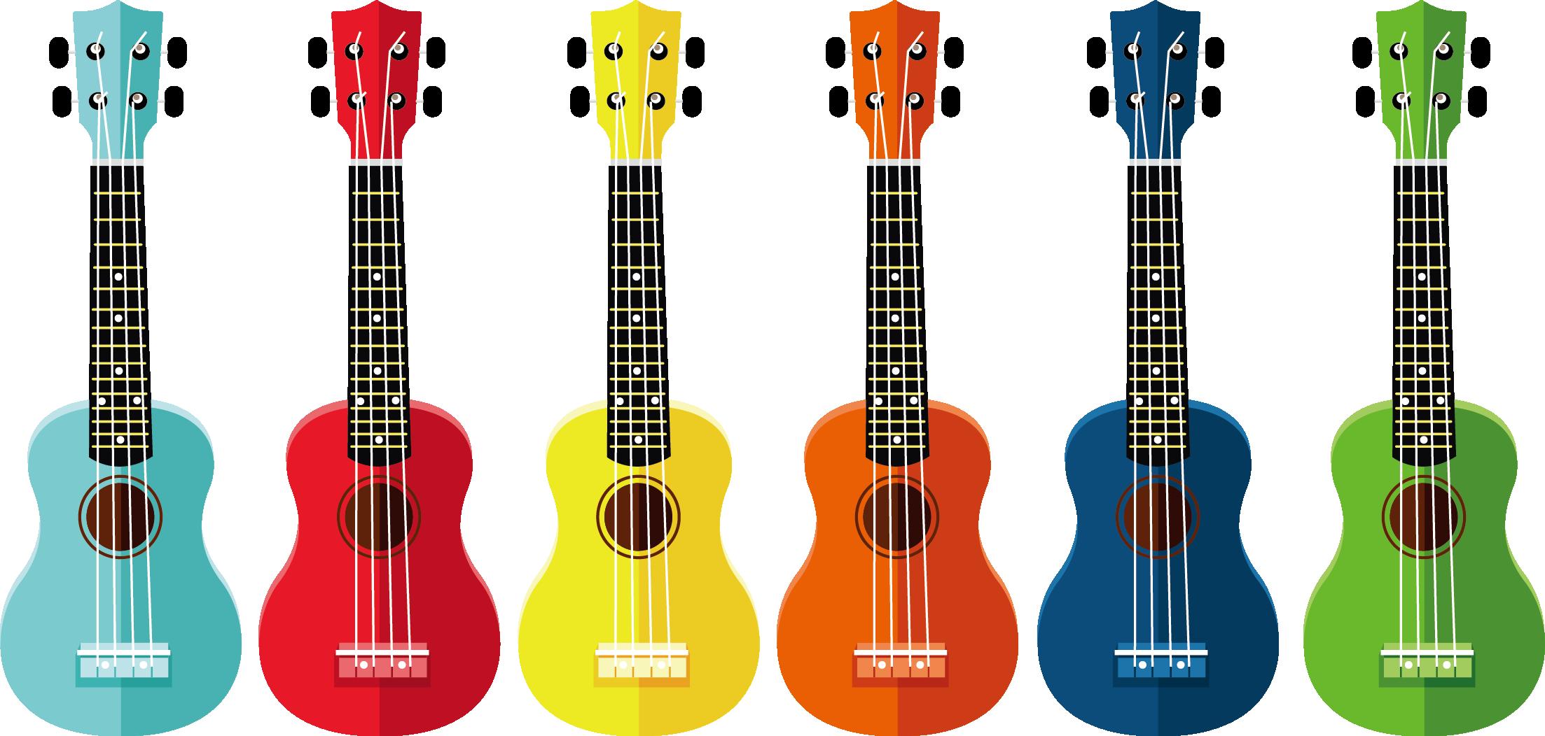 Clipart guitar cuatro. Ukulele drawing clip art