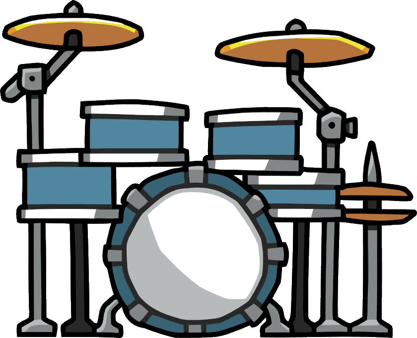 Image drums png scribblenauts. Piano clipart percussion instrument